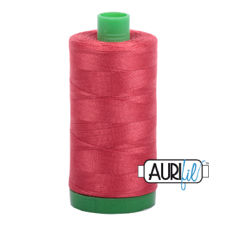 Aurifil 40 Cotton Thread - 2230 (Pinky Mid Red)